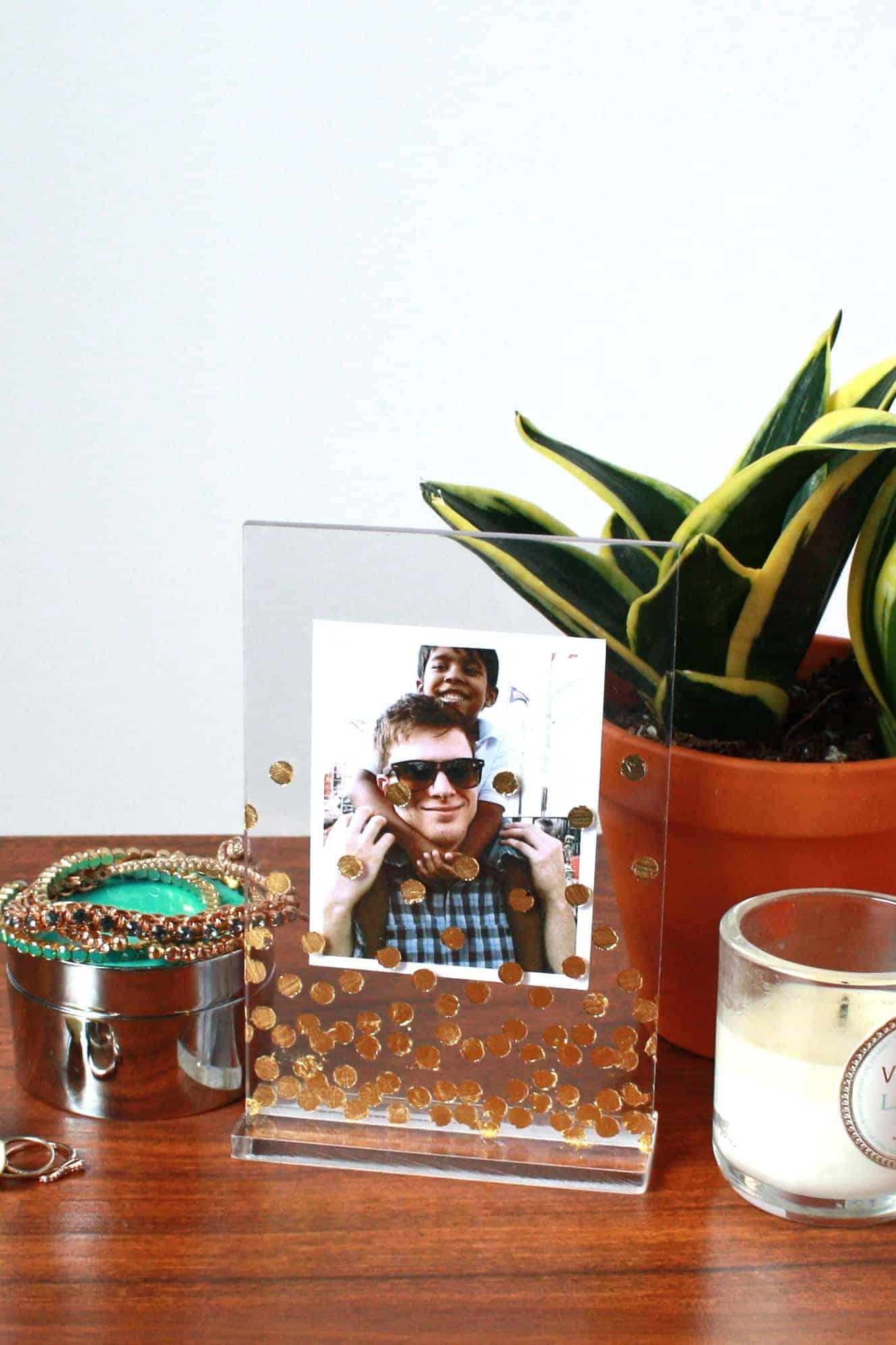 Gold leaf Photo frames