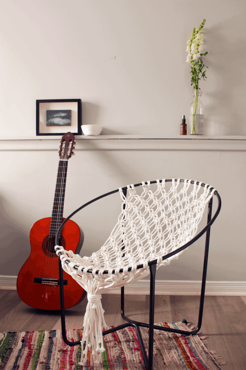 DIY Macrame Hammock Chair | Fish & Bull
