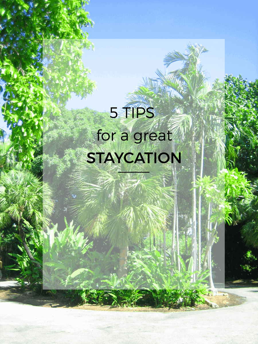 This summer we've perfected the art of a staycation so it feels really similar to a relaxing getaway. The key is to try new things, eat new foods, check out new shops and basically look at your city through a tourists eyes. Here is a list of 5 essentials for having a great staycation!