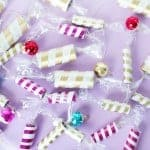 Holiday Christmas Candy Garland on Brit + Co