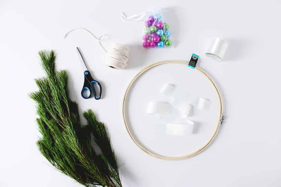 DIY Scandinavian Style Wreath | Fish & Bull