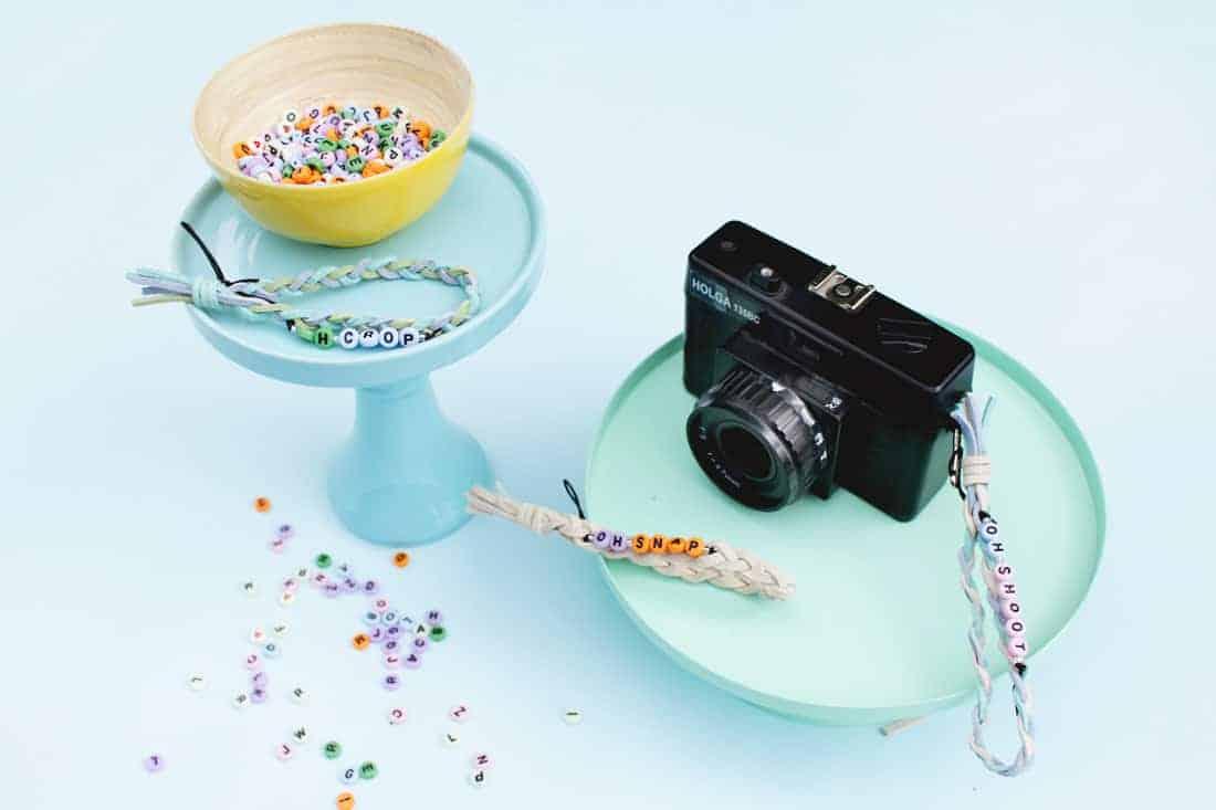 DIY Braided Camera Straps on Brit + Co