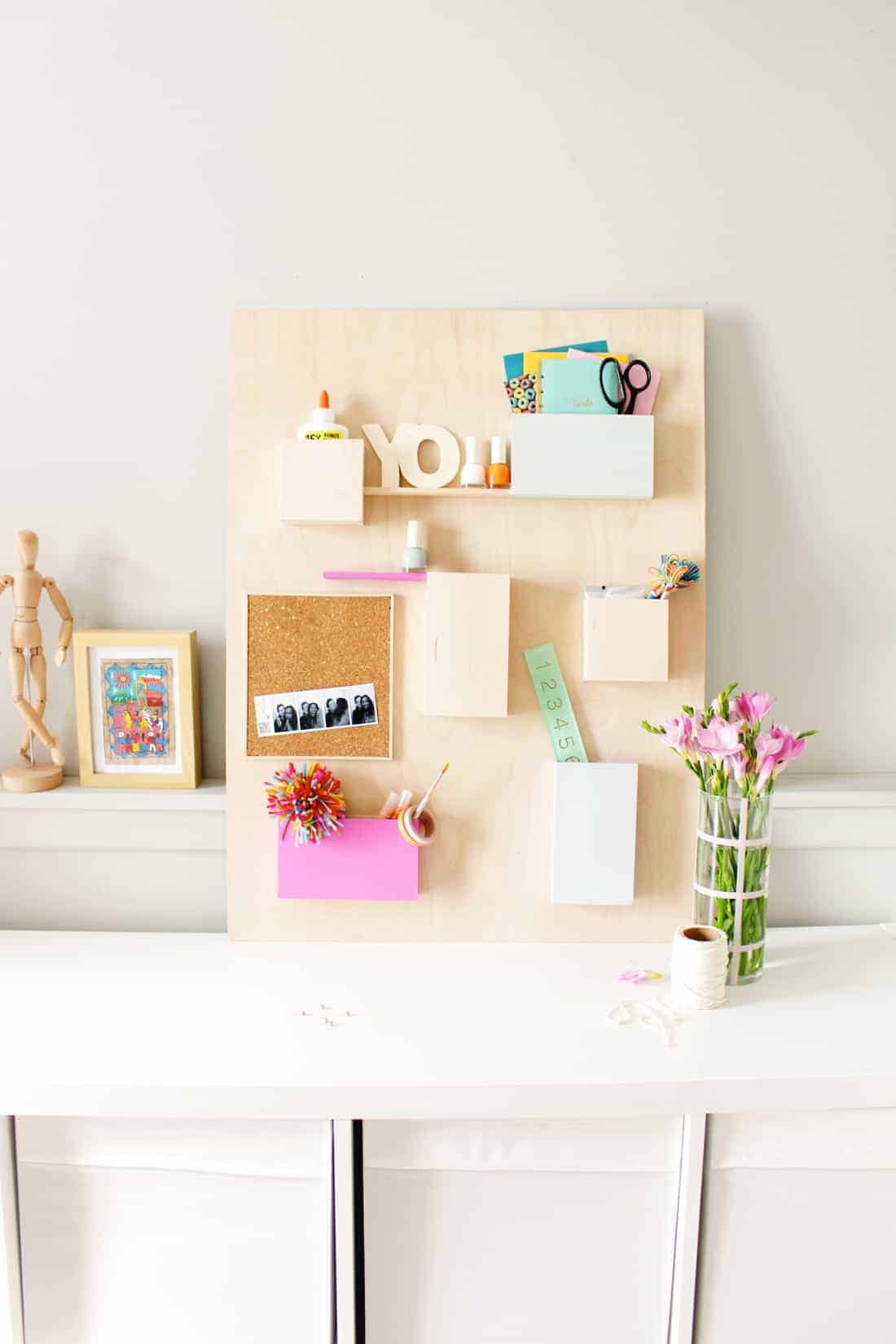 DIY Update | Anthropologie Wall Organizer Hack