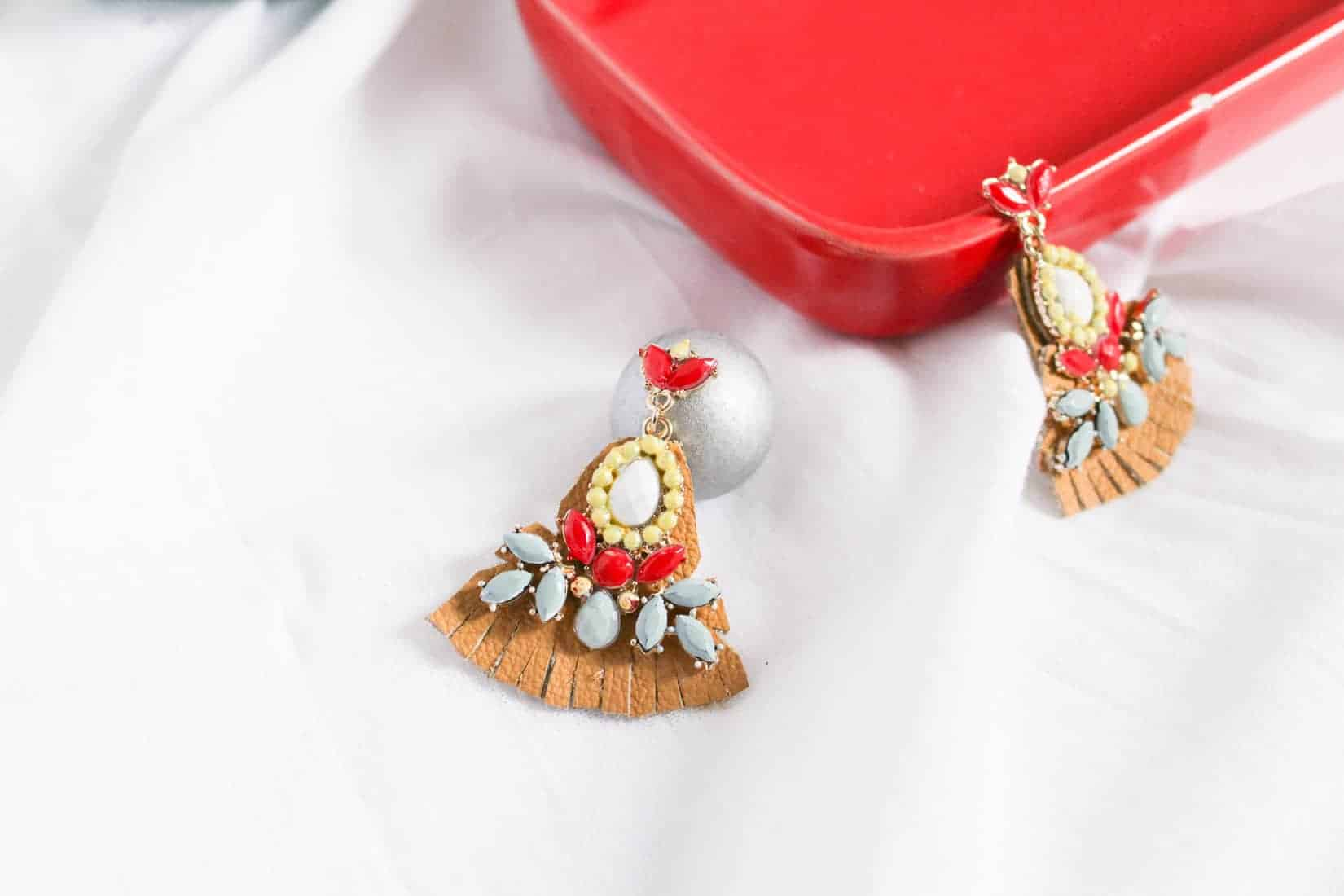 DIY Anthropologie Drop Earrings on Brit + Co