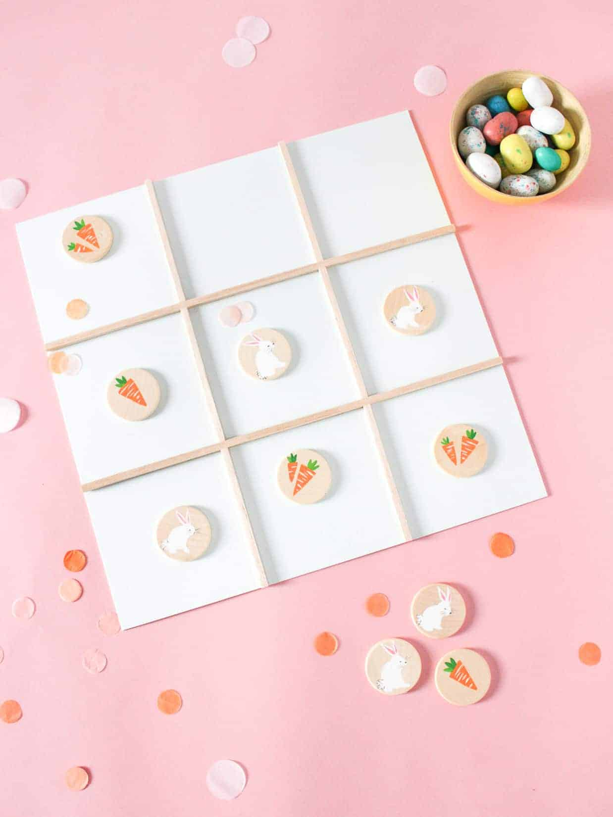 DIY Tic Tac Toe Game Board | Fish & Bull