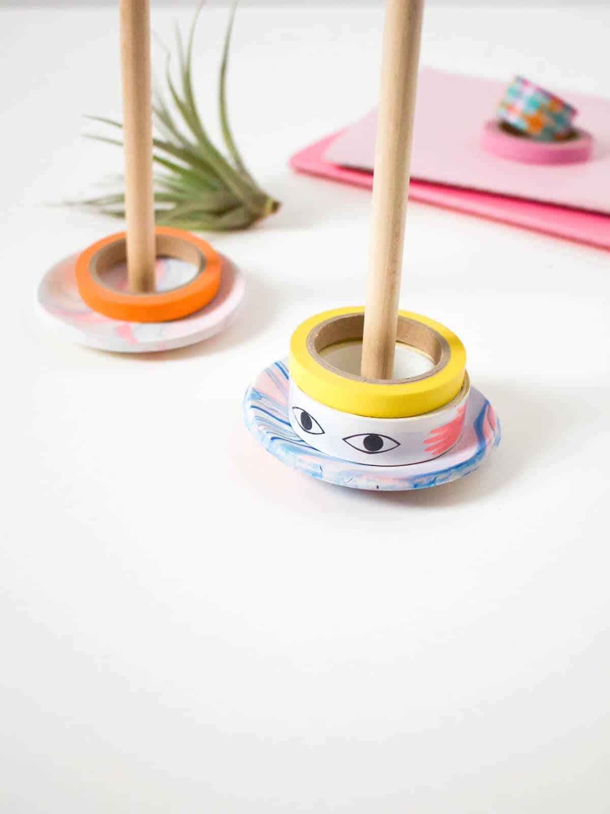 DIY Washi Tape Holder | Fish & Bull