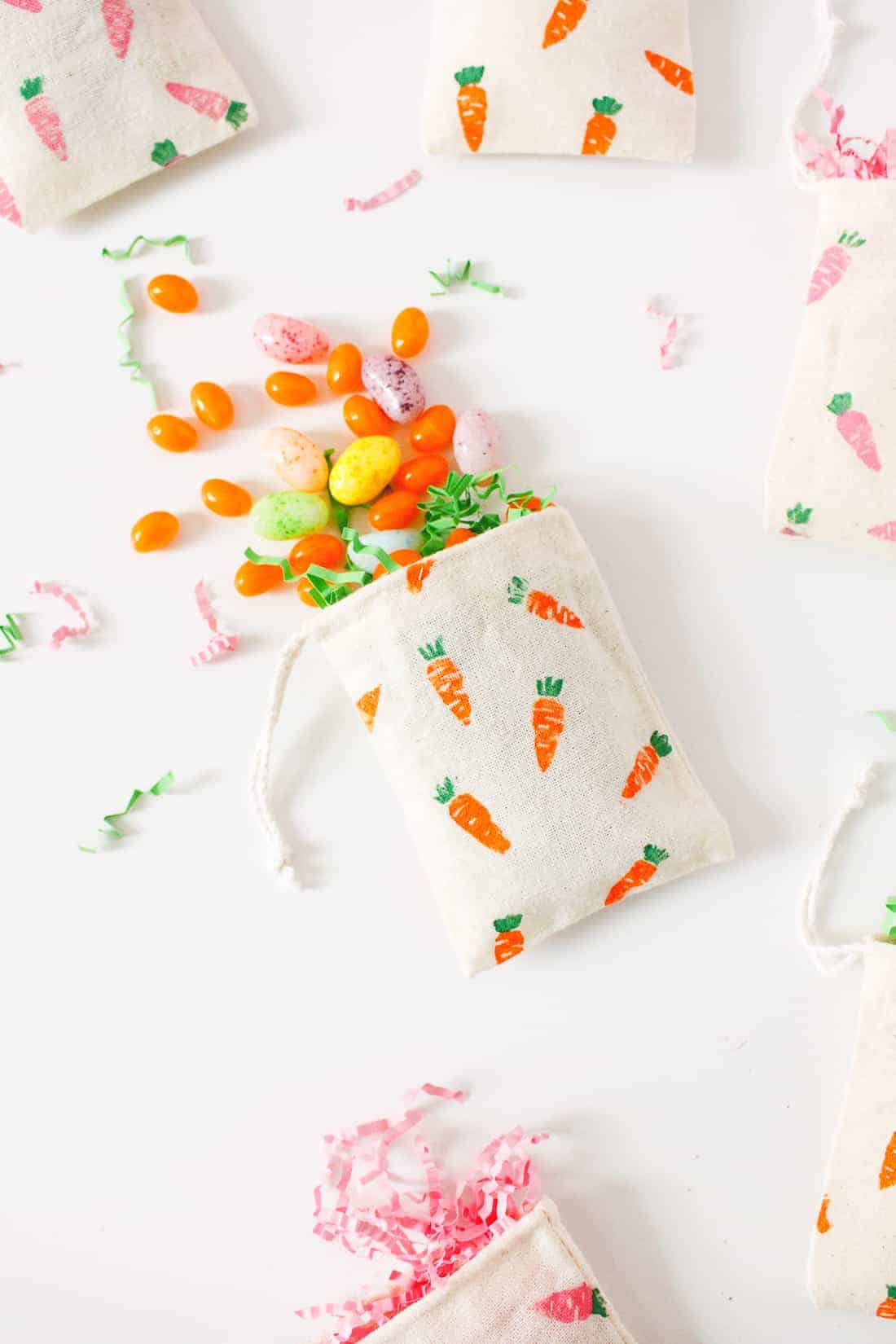 DIY Easter Carrot Treat Bags | Fish & Bull