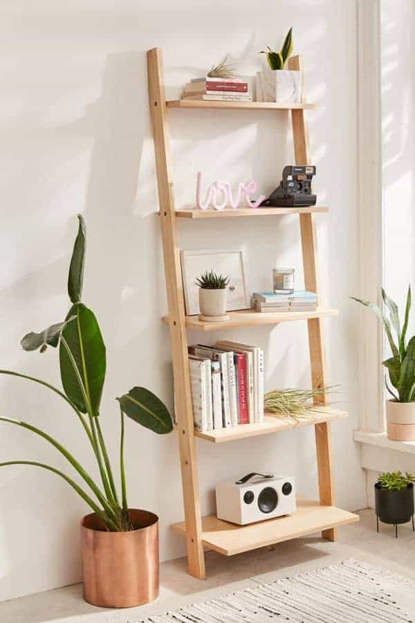 cheap for discount 506f6 eabf9 How to Build a DIY Leaning Bookshelf | Fish & Bull