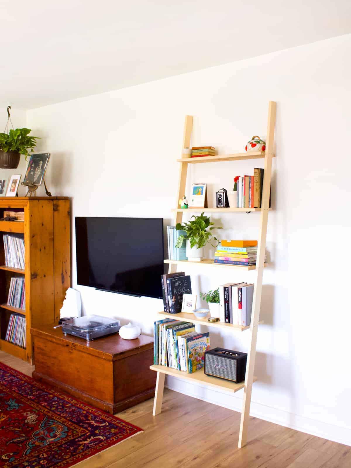 How To Build A Diy Leaning Bookshelf Fish Bull